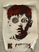 Florence Graffiti: Be Curious, face mounted photograph, limited edition of 10