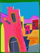 DUCOTE; Mexican Townscape