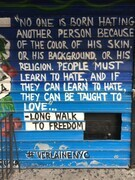 TAYLOR; NYC Graffiti 3: Words to Live By II; photograph